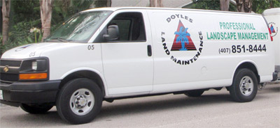 Doyle Land Systems Service Van
